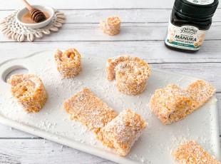Apricot & Coconut Roll-Ups