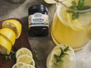 Ginger Honey Lemonade