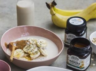 Vanilla, Chia & Manuka Porridge