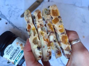 White Chocolate Fruit & Nut Bar