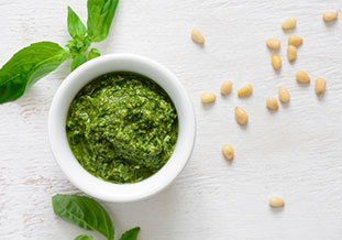 Healthy Basil Pesto